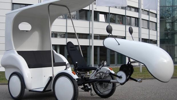 So sieht das Versuchsmobil der Fraunhofer aus