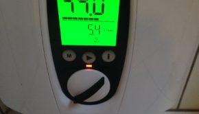 Moderner elektronischer Durchlauferhitzer